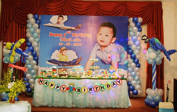 Background sinh nhật cho bé trai đẹp mắt
