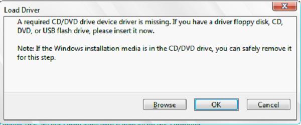 Thông báo lỗi trên Windows 7 & Windows Server 2008 R2