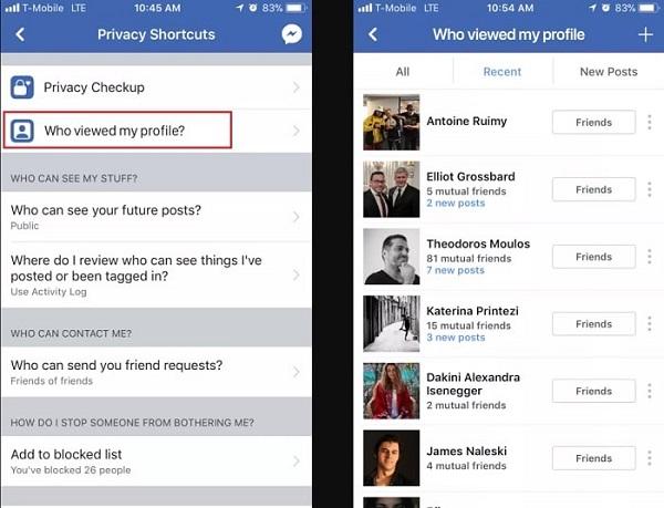 Ai là người ghé thăm bạn nhiều nhất trên Facebook sẽ hiện ra
