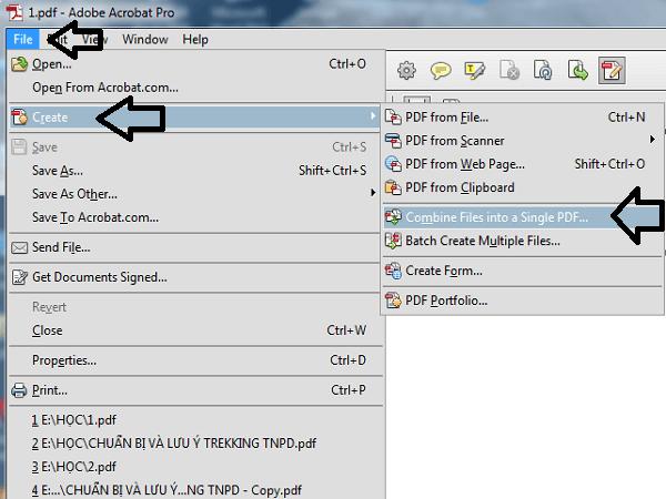 Xoay File PDF Bằng Trình Đọc PDF Adobe Acrobat