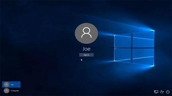 Đăng nhập Windows 10