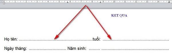 Hướng dẫn cách làm dấu chấm trong word nhanh chóng