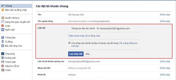 Nhấp vào tài khoản người dùng mà bạn muốn thay đổi mật khẩu